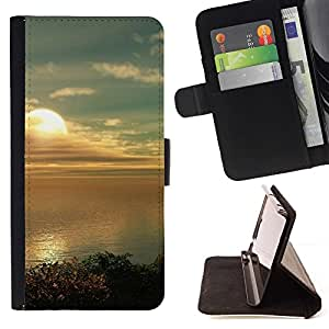 Momo Phone Case / Flip Funda de Cuero Case Cover - Naturaleza Hermosa Forrest Verde 182 - Samsung Galaxy S6 Edge Plus / S6 Edge+ G928