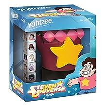 USAOPOLY YZ085-457 Yahtzee Steven Universe Garnet's Gauntlet Board Game