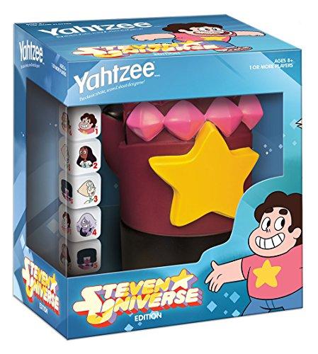 USAopoly Yahtzee Steven Universe Garnet's Gauntlet Board Game by USAopoly