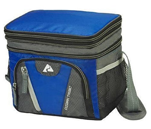 Can Cooler Expandable Top Blue