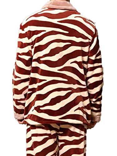 Otoño Rojo Cálido Dormir Servicio A Interior De Franela Pijamas Largo Domicilio Cómodo E Invierno Hombres Ropa Giro Dos qnTYEpBaY