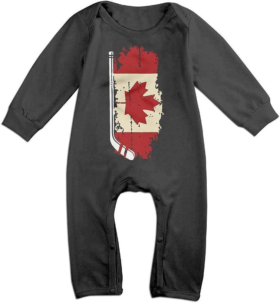 PMsunglasses Canada Hockey Long Sleeve Baby Bodysuit Bodysuit