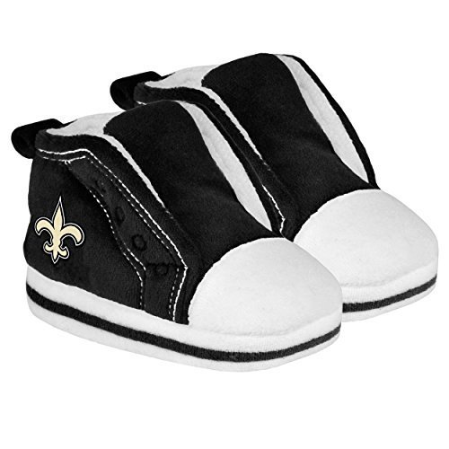 Forever Collectibles NFL 2014 Football Baby Infant High Top Slipper - Pick Team (New Orleans Saints, 12-24 (Baby Team Ball)