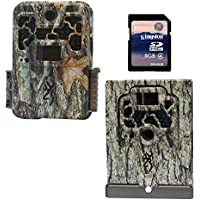 Browning Trail Cameras Recon Force 10MP Game Camera + Security Box + 8GB SD Card