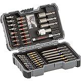 Bosch 2 607 017 164 Set de 43 Unidades para atornillar y Llaves de Vaso (Ph,Pz,SL,H,T,TH), Herramientas, 0