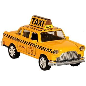 Toysmith Yellow Taxi 5 Inch Toys Games