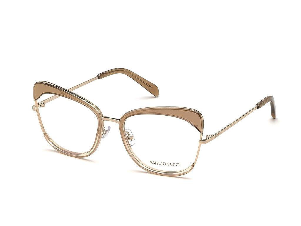 Emilio Pucci Montature occhiali da vista donna in metallo EP5090