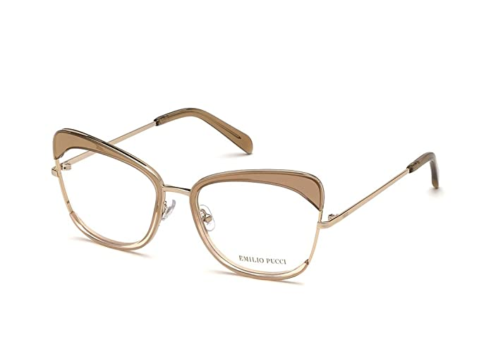new style 9bcda 4e875 Emilio Pucci Montature occhiali da vista donna in metallo ...