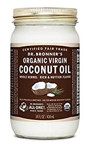 Dr. Bronner Coconut Oil, Org Whole, 14 Ounce