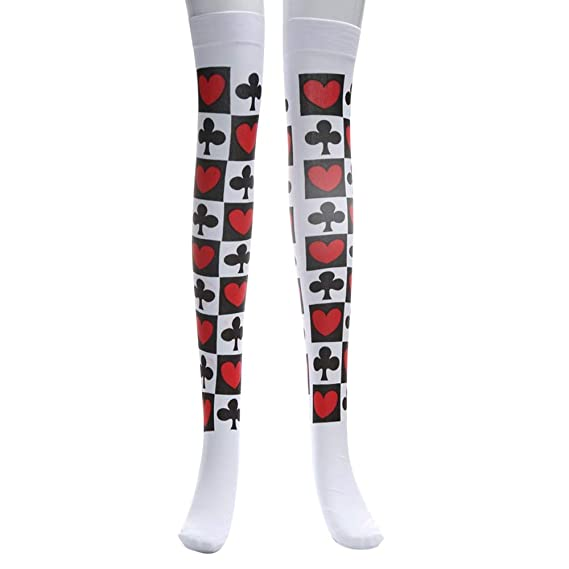 Malloom Las medias de Halloween aman calcetines mascarada calcetines