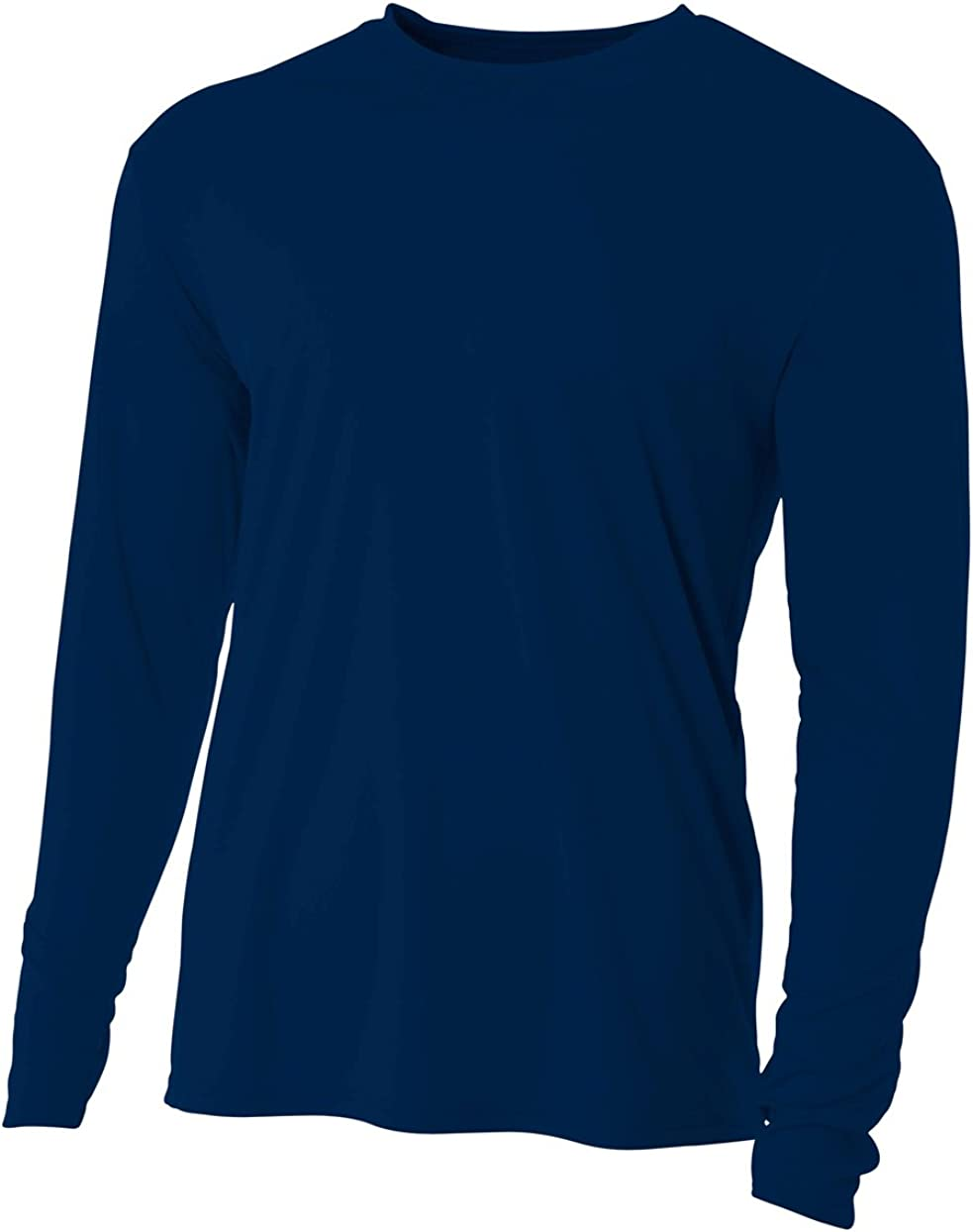 A4 Mens Cooling Performance Crew Long Sleeve Tee