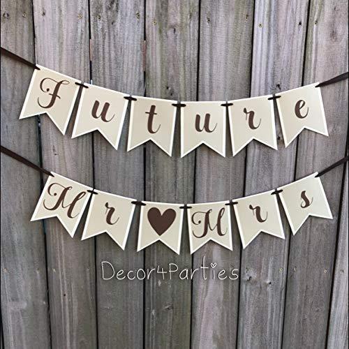 Mr Wedding Banner Mr Mrs Engagement Banner Custom Made Banner Mrs Photoshoot Banner