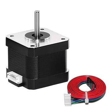 HUKOER Motor paso a paso 42, motores de impresora 3D, motor paso a ...
