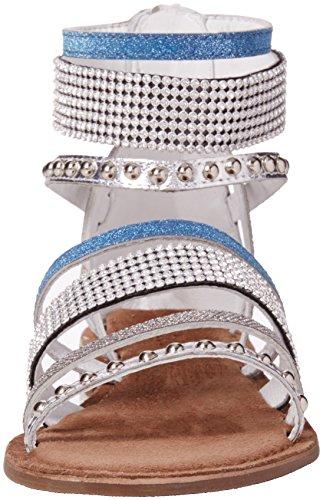 Lotus Wren - Sandalias de tobillo Mujer Silver (silver Multi)