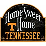Wincraft Tennessee Volunteers 11x9 Home Sweet Home Wood Sign