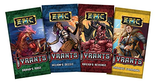 Epic Card Game: Tyrants 4 Pack Bundle