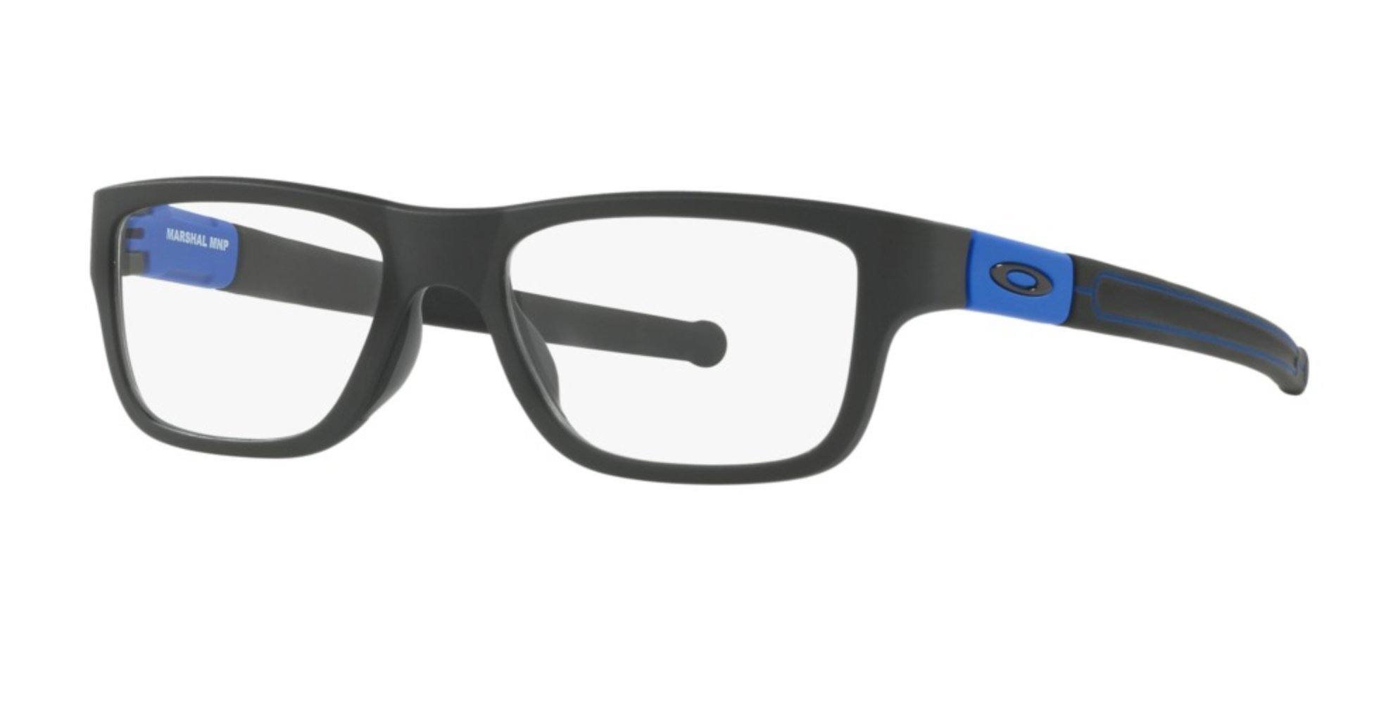 Oakley MARSHAL COBALT COLLECTION OX8091-05 Eyeglasses Satin Black 51mm by Oakley