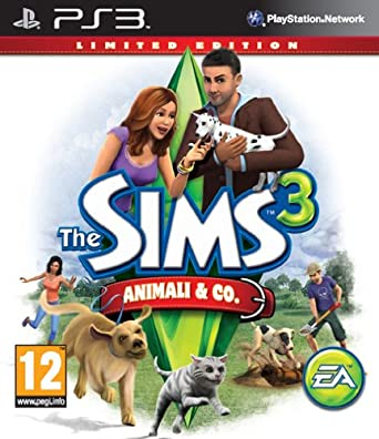 Electronic Arts - MXI03808709 - PS3 The Sims 3 Animali Co. Limited Edition