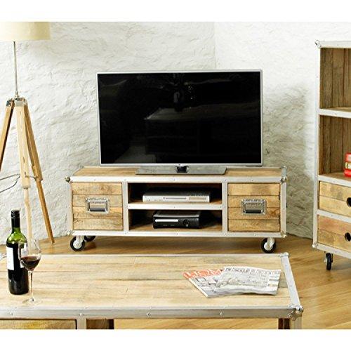 Colorado Breitbild TV Möbel Schrank mit 2 Schranktüren
