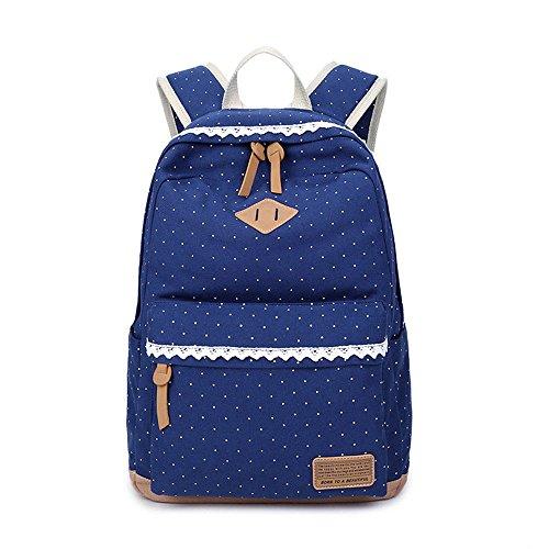 Nuova borsa 33 nera 14cm da zaino viaggio blu 42 fashionGirls rOrSq