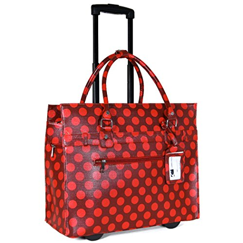 cabrelli-dot-laptop-rollerbrief-red-one-size