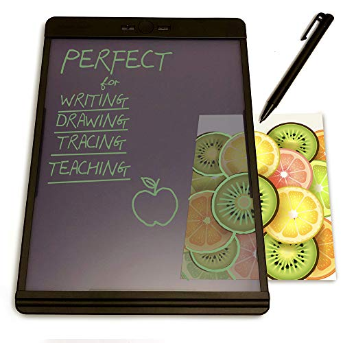 Boogie Board Blackboard Writing Tablet - LCD Drawing Pad and Electronic Digital Notepad - Reusable and Erasable Ewriter - Great for Note Taking Feels Just Like Paper and ()