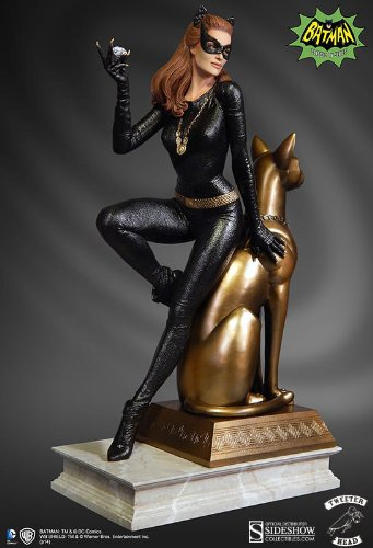 Tweeter Head Batman Classic 1966 TV Series: Catwoman Maquette (Maquette Cold Cast)