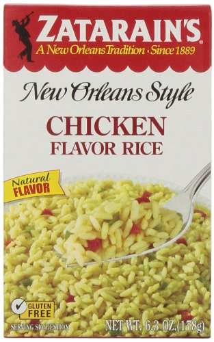 Zatarain's Chicken Flavored Rice, 6.3 oz (Case of 12)