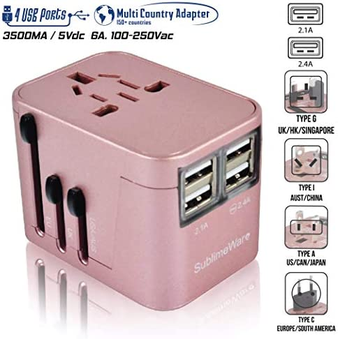 Power Plug Adapter International Countries product image