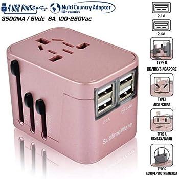 Amazon Com Power Plug Adapter International Travel
