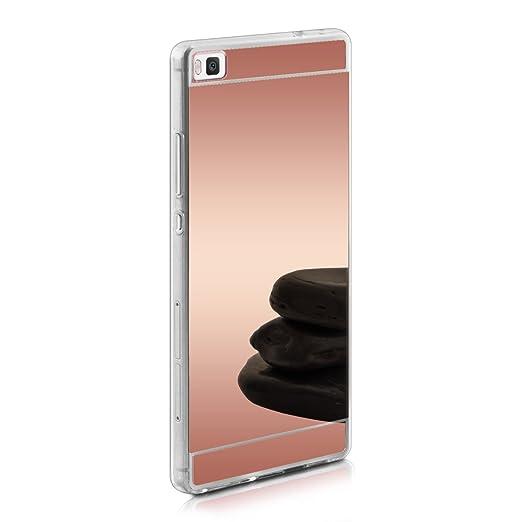 80 opinioni per kwmobile Cover per Huawei P8- Custodia in silicone TPU- Back case protezione