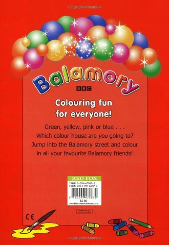 Welcome to Balamory: A Colouring Book