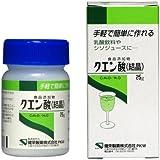 【食品添加物】クエン酸 25g