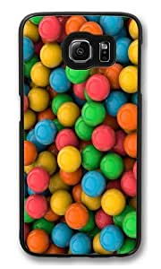The color of candies Polycarbonate Hard Case Cover for Samsung S6/Samsung Galaxy S6 Black