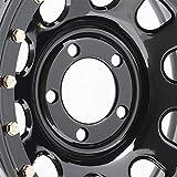 "Pro Comp Steel Wheels Series 252 Wheel with Gloss Black Finish (15x10""/5x4.5"")"