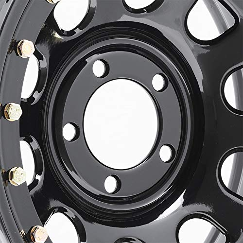 Pro Comp Steel Wheels Series 252 Wheel with Gloss Black Finish (15x10