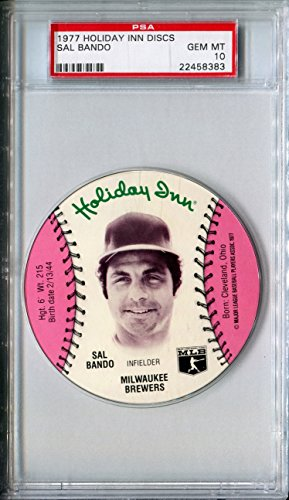 1977 MSA Holiday Inn Sports Discs SAL BANDO