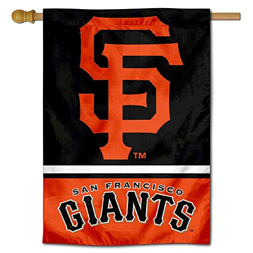 - WinCraft San Francisco Giants Two Sided House Flag