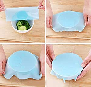 Tyro 23CM غطاء سيليكون البلاستيك التفاف الغلاف طبق الميكروويف فرن الثلاجة طازج وعاء ختم تغطية تخزين الطعام