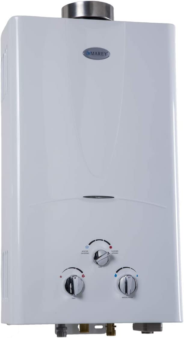 Marey Power Gas 5L 2.0 GPM Natural Gas Tankless Water Heater