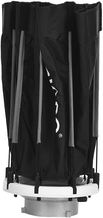 RuleaxAsi 55cm Foldable 8-Pole Octagon Softbox with Soft Cloth Carrying Bag Bowens Mount for Studio Strobe Flash Light