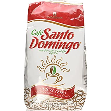 Cafe Molido Santo Domingo Coffee 1 Lb - 2pack
