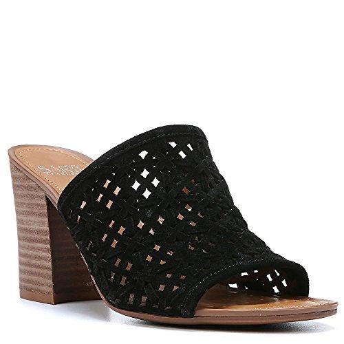 Franco Sarto Joselle Womens Sandal Black Suede