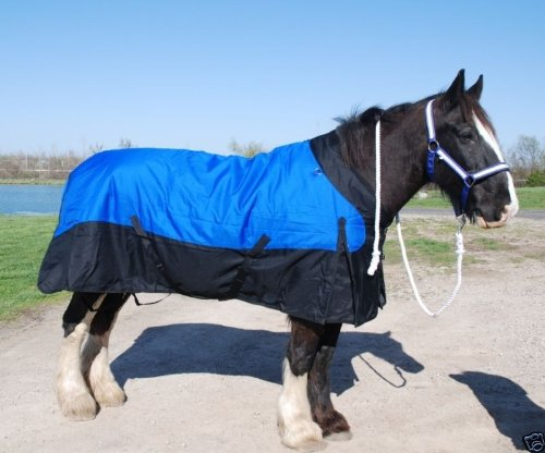 """Ultimate Draft Horse 100"""" turnout blanket waterproof wind..."""