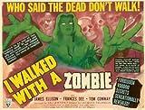 I Walked With a Zombie Movie Poster (11 x 17 Inches - 28cm x 44cm) (1943) Style C -(Frances Dee)(Tom Conway)(James Ellison)(Christine Gordon)(Edith Barrett)(Darby Jones)