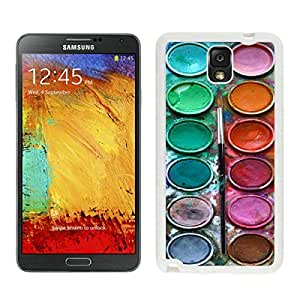 BINGO cheap price Watercolor Sets Witeh Brushes Samsung Galaxy Note 3 Case White Co 3