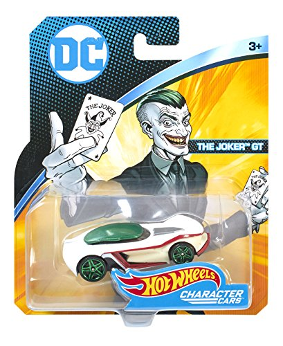 Wheels Hot Auto (Hot Wheels DC Universe The Joker Gt Vehicle)