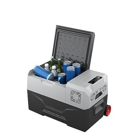 SHISHANG 30L coche pequeño refrigerador / coche de casa de doble uso / portátil al aire libre compresor de refrigeración mini ...