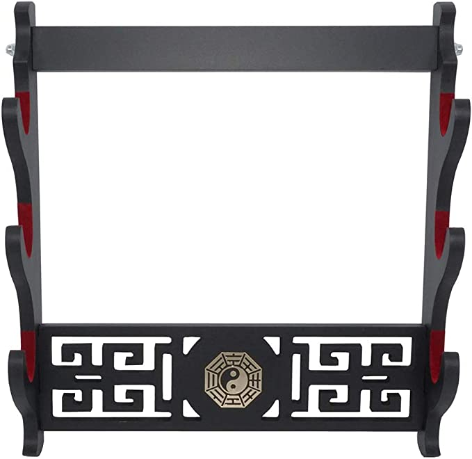 XMRISE RISEDJ Support pour /ép/ée de samoura/ï Support pour Katana Wakizashi Tanto Display-1 Niveau