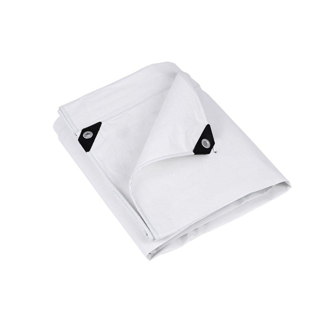 AAA アウトドア用防水性日焼け止めポンチョウェアラブル屋外カーゴカバーキャンプ用毛布オックスフォードホワイト (サイズ さいず : 3 x 6m) B07FY3YRBY 3 x 6m  3 x 6m